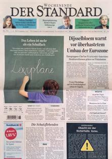 der standard, austrian newspaper