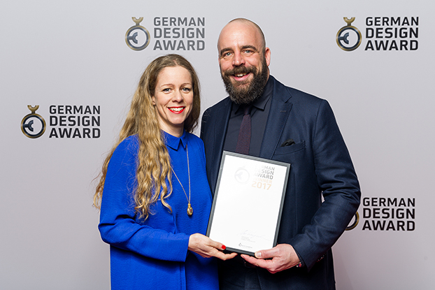 nina mair german design award winner 2017 award ceremony